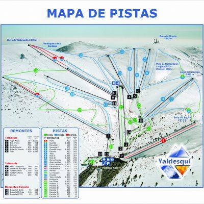 Mapa de Pistas 2011